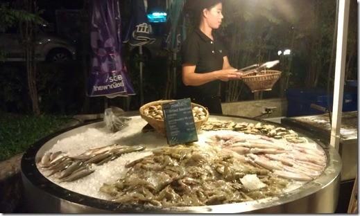 Cicada market Хуа-Хин морепродукты